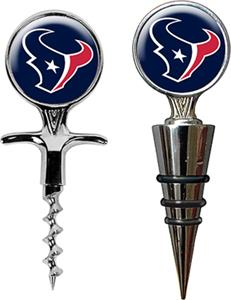 NFL Houston Texans Cork Screw & Bottle Topper