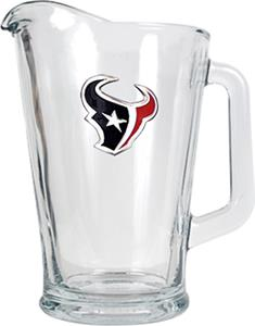 NFL Houston Texans 1/2 Gallon Glass Pitcher