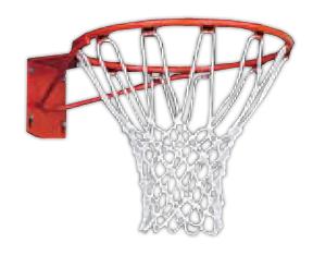 Porter Standard Front Mount Basketball Goals