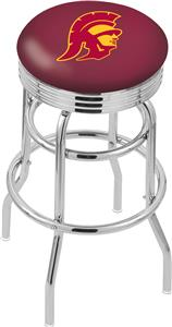 Univ Southern California Ribbed Double-Ring Stool