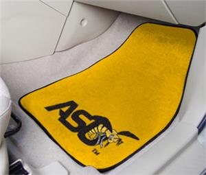 Fan Mats Alabama State University Car Mat Set
