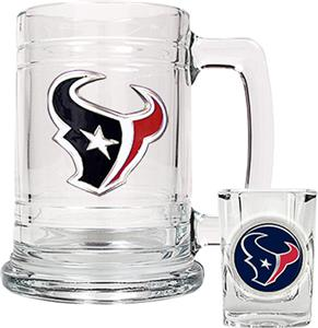 NFL Houston Texans Boilermaker Gift Set