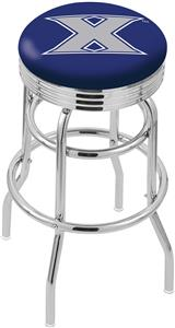 Holland Xavier Ribbed Double-Ring Bar Stool