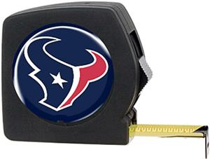 NFL Houston Texans 25' Tape Measure with Logo
