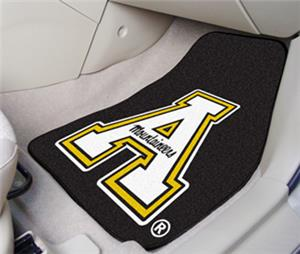 Fan Mats Appalachian State Carpet Car Mat Set