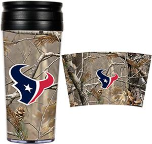 NFL Houston Texans 16oz Realtree Travel Tumbler