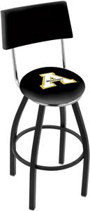 Appalachian State Univ Swivel Back Bar Stool