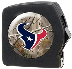 NFL Houston Texans 25' RealTree Tape Measure