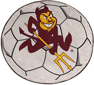 Fan Mats Arizona State Soccer Ball Mat