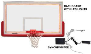 Porter FIBA Backboard w/ LED Lights & Synchronizer