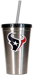 NFL Houston Texans 16oz Tumbler with Straw