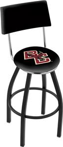 Holland Boston College Swivel Back Bar Stool
