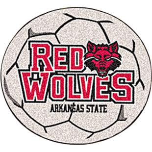 Fan Mats Arkansas State University Soccer Ball Mat