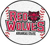 Fan Mats Arkansas State University Baseball Mat