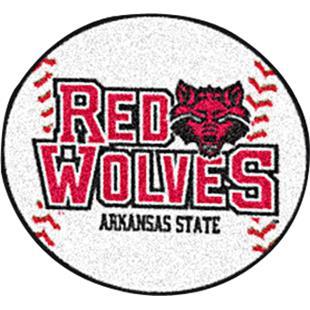 Fan Mats Arkansas State University Baseball Mat
