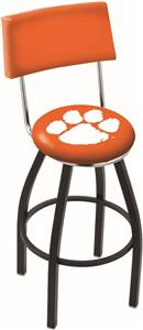 Holland Clemson Swivel Back Bar Stool