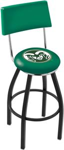 Colorado State University Swivel Back Bar Stool