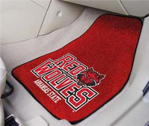 Fan Mats Arkansas State Univ Carpet Car Mats (set)