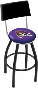 East Carolina University Swivel Back Bar Stool