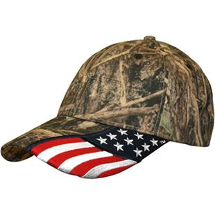 ROCKPOINT Freedom True Timber Camo Cap