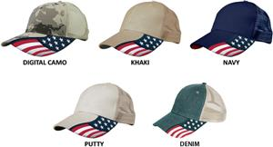 ROCKPOINT Freedom Mesh Cap