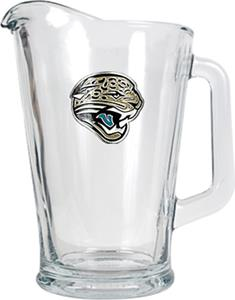 NFL Jacksonville Jaguars 1/2 Gallon Glass Pitcher