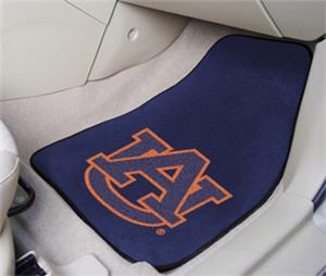 Fan Mats Auburn University Carpet Car Mat Set