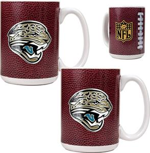 NFL Jacksonville Jaguars Gameball Mug (Set of 2)