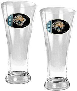 NFL Jacksonville Jaguars 2 Piece Pilsner Glass Set