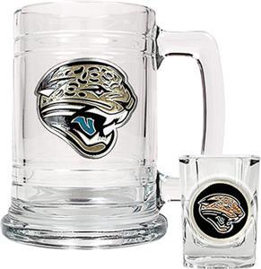 NFL Jacksonville Jaguars Boilermaker Gift Set