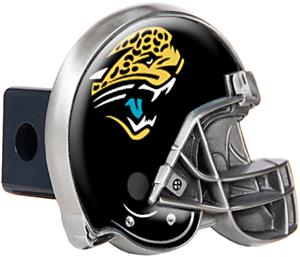 NFL Jaguars Helmet Trailer Hitch Cover