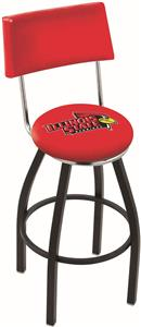 Illinois State University Swivel Back Bar Stool