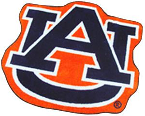 Fan Mats Auburn University Tigers Mascot Mat