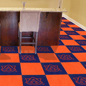 Fan Mats Auburn University Team Carpet Tiles