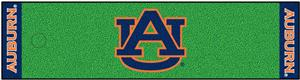 Fan Mats NCAA Auburn University Putting Green Mat