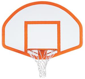 "Porter Fiberglass Basketball Backboard - 54"" x 39"""