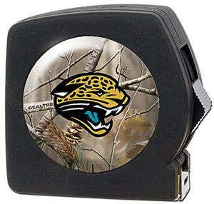 NFL Jacksonville Jaguars 25' RealTree Tape Measure
