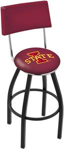 Iowa State University Swivel Back Bar Stool