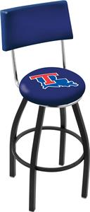 Louisiana Tech University Swivel Back Bar Stool