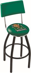 Marshall University Swivel Back Bar Stool
