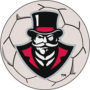 Fan Mats Austin Peay State U. Soccer Ball Mat