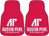 Fan Mats Austin Peay State U Carpet Car Mats (set)