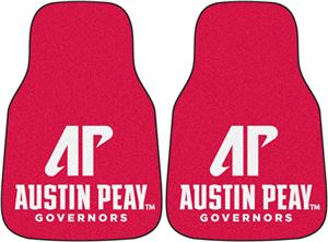 Fan Mats Austin Peay State U. Carpet Car Mat