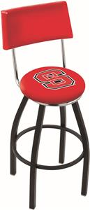 North Carolina State Univ Swivel Back Bar Stool