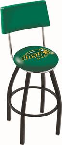 North Dakota State Univ Swivel Back Bar Stool