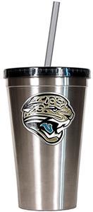 NFL Jacksonville Jaguars 16oz Tumbler with Straw