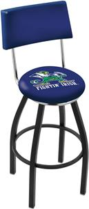 Notre Dame Leprechaun Swivel Back Bar Stool