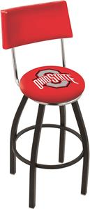 Ohio State University Swivel Back Bar Stool
