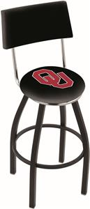 Holland Oklahoma University Swivel Back Bar Stool