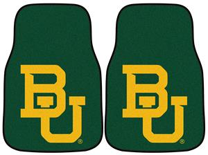 Fan Mats Baylor University Carpet Car Mats
